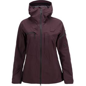 Peak Performance W's Alpine Jacket Mahogany